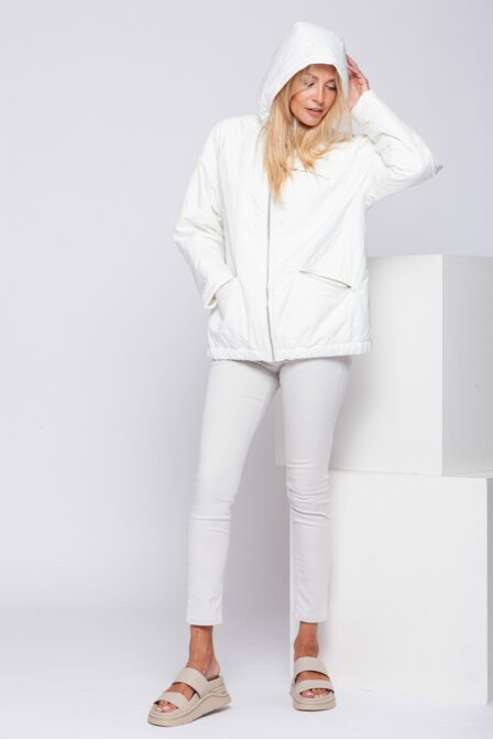 Women's Quilted Jacket JOY Off White
