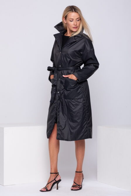 Women's Quilted Jacket SOFT Black